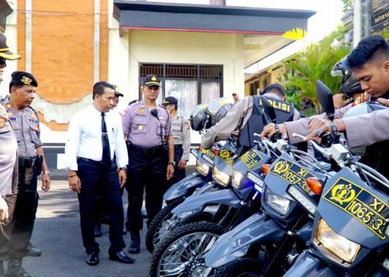 Nusabali.com - pengamanan-polres-bangli-terjunkan-175-personel