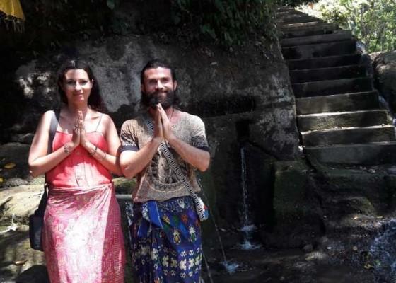 Nusabali.com - wisatawan-mulai-lirik-candi-tebing-tegallinggah