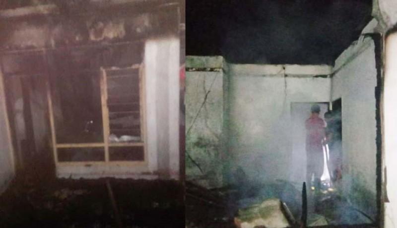www.nusabali.com-dua-rumah-terbakar-ratusan-kilogram-cengkih-terbakar