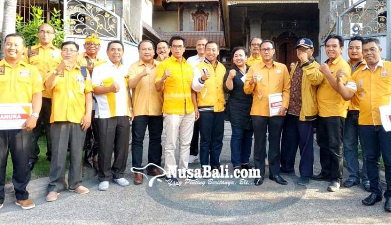 www.nusabali.com-lolak-jadi-plt-ketua-hanura-bali