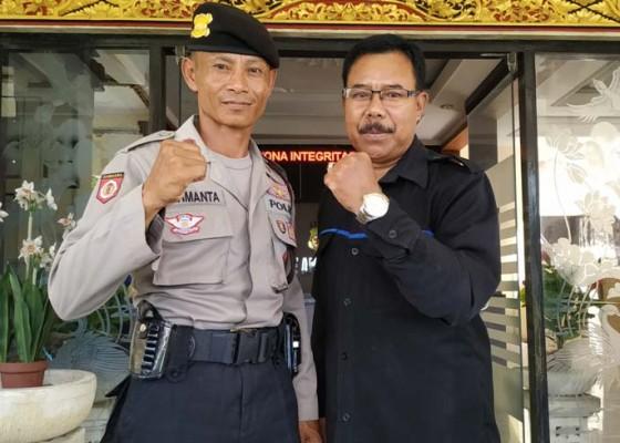 Nusabali.com - polisi-lari-dari-markas-polda-bali-ke-polres-tabanan