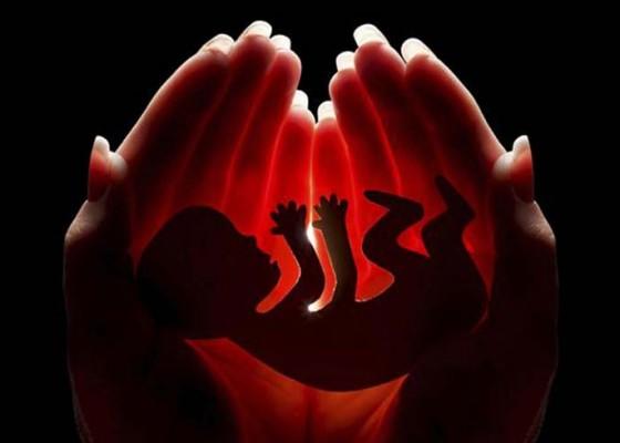 Nusabali.com - pasangan-kumpul-kebo-pembuang-bayi-tersangka