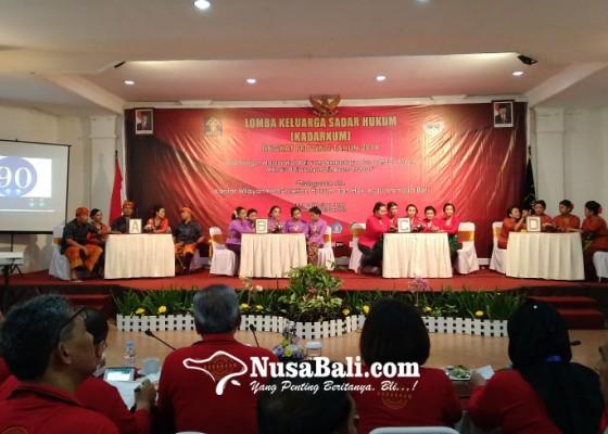 Nusabali.com - kemenkumham-bali-gelar-lomba-keluarga-sadar-hukum