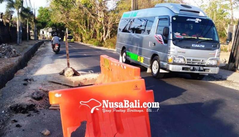 www.nusabali.com-pembangunan-usai-beberapa-titik-jalan-dharmawangsa-masih-berlubang