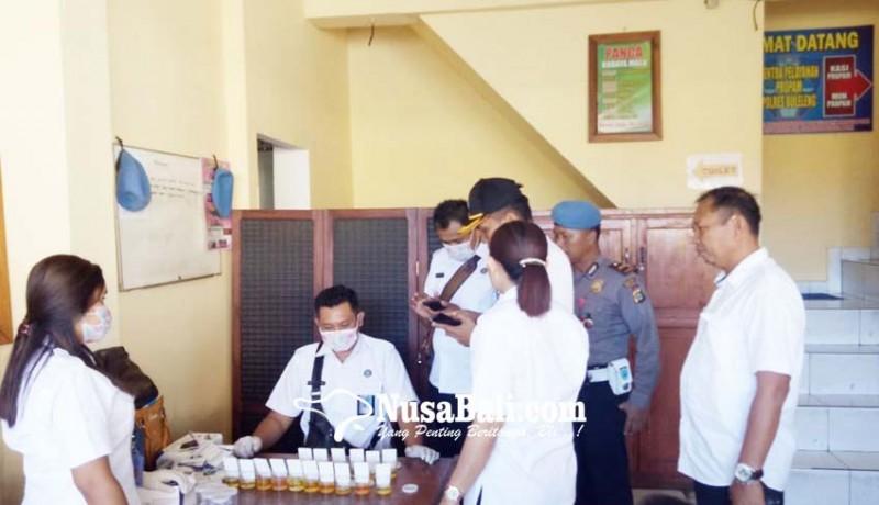 www.nusabali.com-personel-polres-buleleng-dites-urine