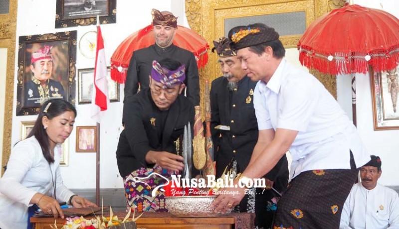www.nusabali.com-tombak-pusaka-kerajaan-klungkung-dikembalikan