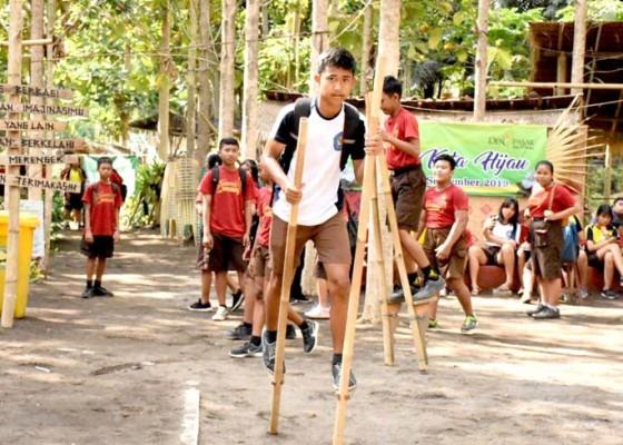 Nusabali.com - ratusan-siswa-kunjungi-tukad-bindu