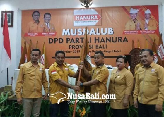 Nusabali.com - aklamasi-lolak-terpilih-jadi-ketua-hanura-bali