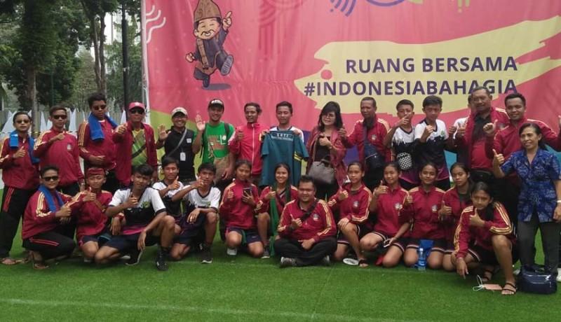 Nusabali Com Bali Sapu Bersih Juara Lomba Permainan Tradisional