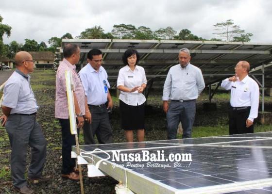 Nusabali.com - produksi-listrik-plts-bangli-meningkat