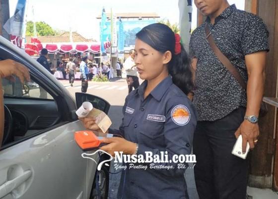 Nusabali.com - pertama-di-bali-tanah-lot-terapkan-e-ticketing