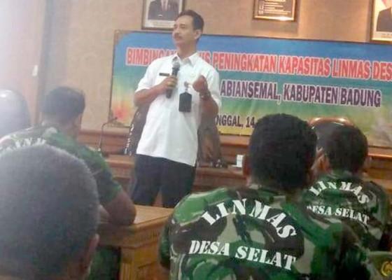 Nusabali.com - bpbd-bekali-linmas-pelatihan-kebencanaan