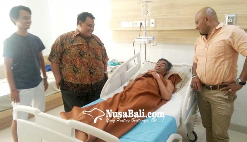 www.nusabali.com-jelang-pemeriksaan-saksi-kuncisudikerta-mendadak-sakit