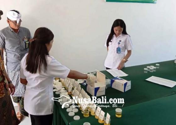 Nusabali.com - lingkup-pn-dites-urine-satu-orang-positif-benzo