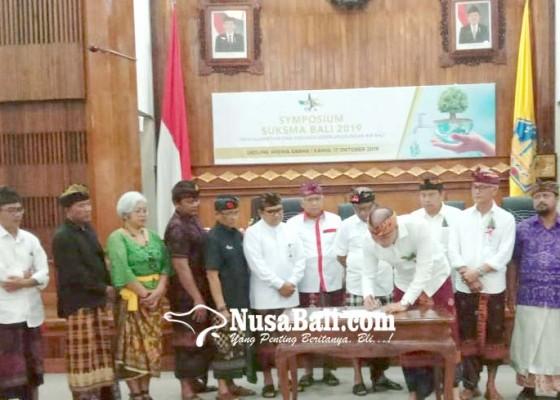Nusabali.com - krisis-air-komponen-pariwisata-deklarasi-panca-kriyamana-untuk-selamatkan-bali