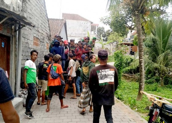 Nusabali.com - ktp-lengkap-ratusan-bonek-transit-di-base-camp-tabanan