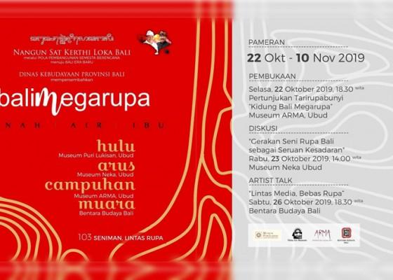 Nusabali.com - disbud-bali-gelar-pameran-megarupa