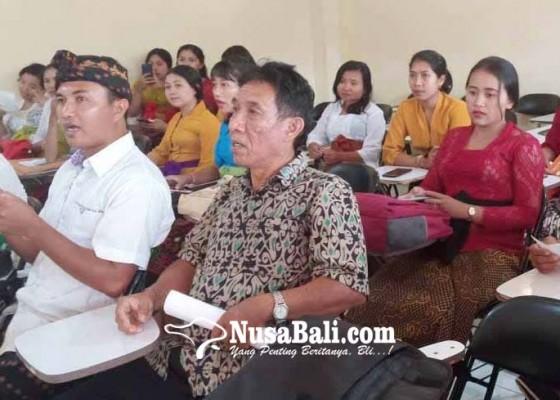 Nusabali.com - pasraman-kilat-berakhir-mahasiswa-diuji-bahasa-sansekerta