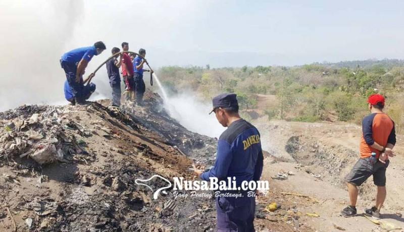 www.nusabali.com-tpa-bengkala-kubutambahan-kebakaran-lagi