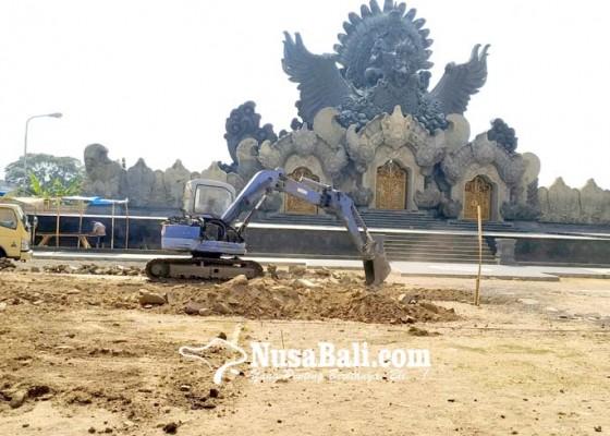 Nusabali.com - penataan-taman-kota-tabanan-digelontor-rp-163-miliar