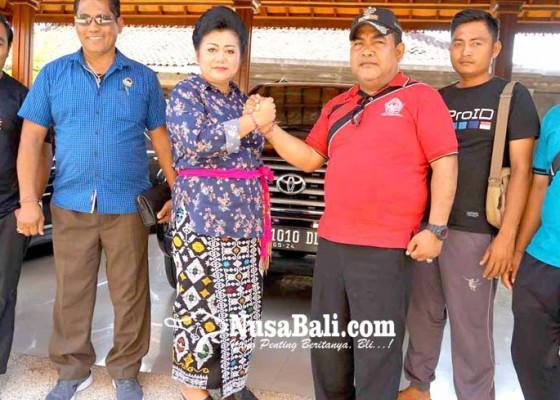 Nusabali.com - panitia-amed-culture-festival-audiensi-ke-bupati
