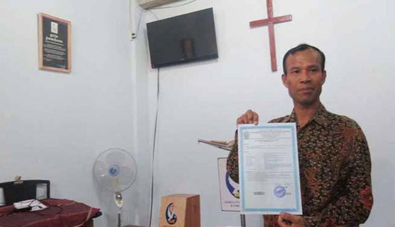www.nusabali.com-cabut-izin-dirikan-gereja-bupati-bantul-digugat