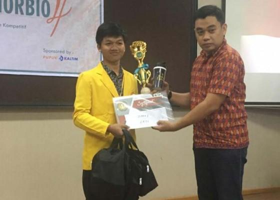Nusabali.com - mahasiswa-unhi-juara-lomba-karya-tulis-nasional-di-samarinda