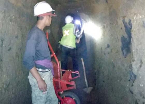 Nusabali.com - pelebaran-terowongan-hampir-rampung