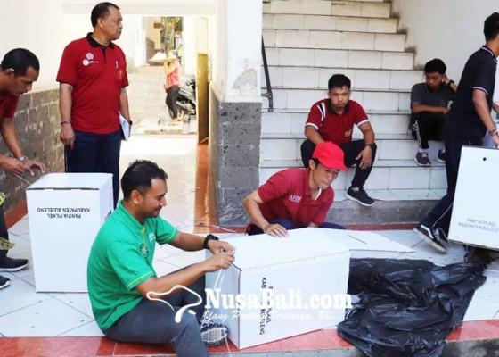 Nusabali.com - logistik-pilkel-serentak-buleleng-mulai-didistribusikan