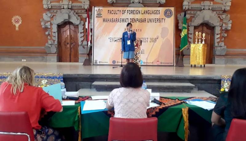www.nusabali.com-hmps-sastra-inggris-fba-unmas-gelar-english-speech-contest