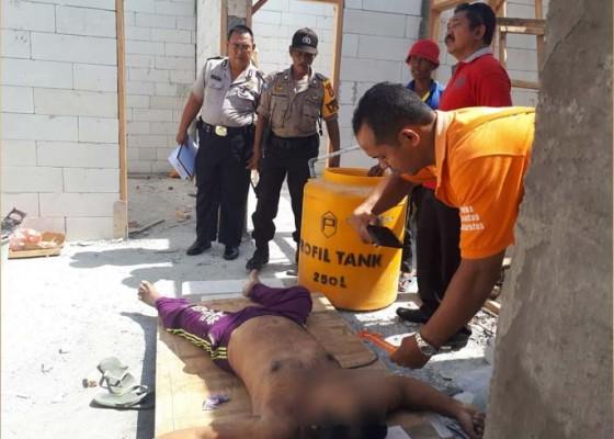 Nusabali.com - buruh-proyek-tewas-saat-tidur-malam