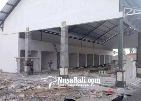 Nusabali.com - los-pasar-desa-pengotan-hampir-rampung