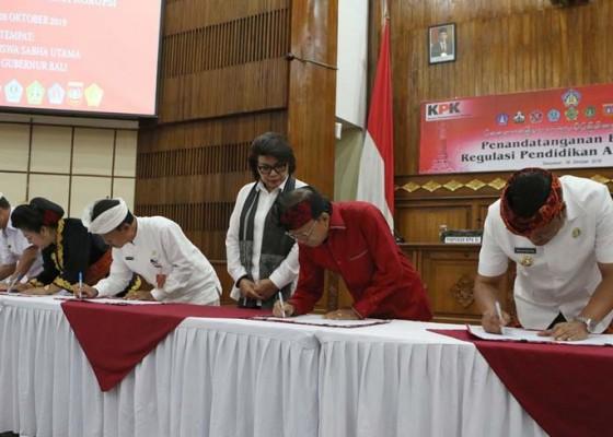 Nusabali.com - program-pendidikan-anti-korupsi-di-bali-ditarget-mulai-2020