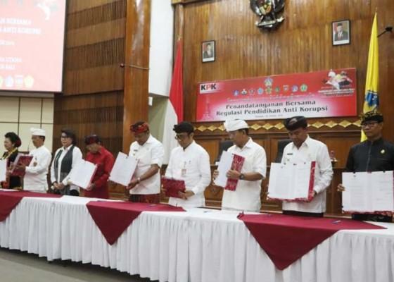 Nusabali.com - badung-peringkat-2-mcp-kpk-di-bali