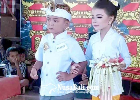 Nusabali.com - lomba-mewarnai-dan-busana-semarakkan-amed-culture-festival