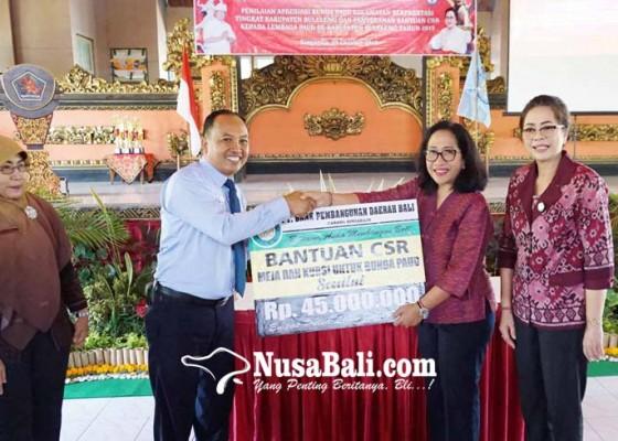 Nusabali.com - bpd-bali-cabang-singaraja-bantu-sarpras-paud