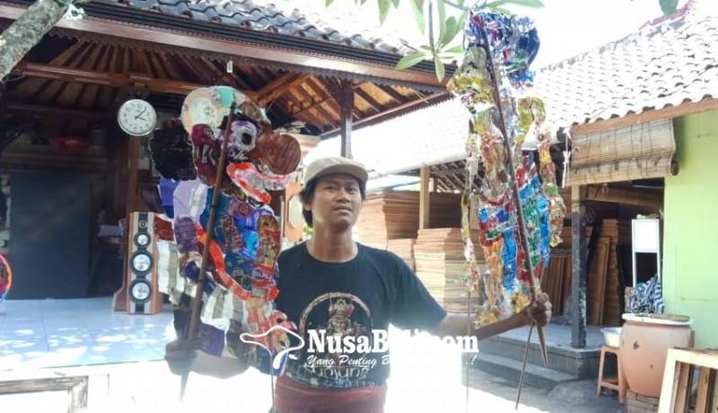 www.nusabali.com-kreasikan-wayang-kontemporer-berbahan-plastik