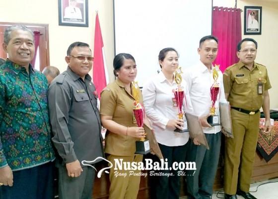 Nusabali.com - perpustakaan-sd-di-tabanan-sebagian-besar-kurang-layak
