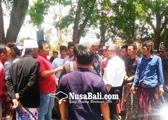 Nusabali.com - puluhan-krama-songan-geruduk-kantor-bpn