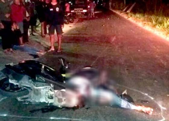Nusabali.com - pemotor-tewas-ditabrak-mobil-misterius