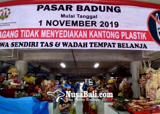 Nusabali.com - pedagang-pasar-diwarning-agar-tidak-sediakan-kantong-plastik