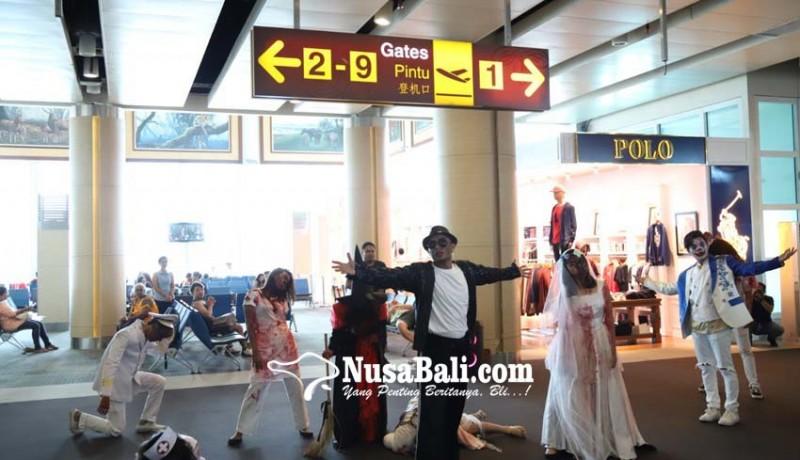 www.nusabali.com-halloween-terminal-bandara-dihiasi-ornamen-menyeramkan