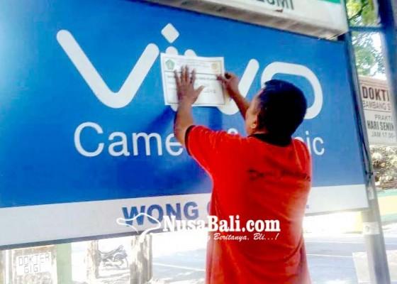Nusabali.com - ngemplang-pajak-reklame-vivo-disegel