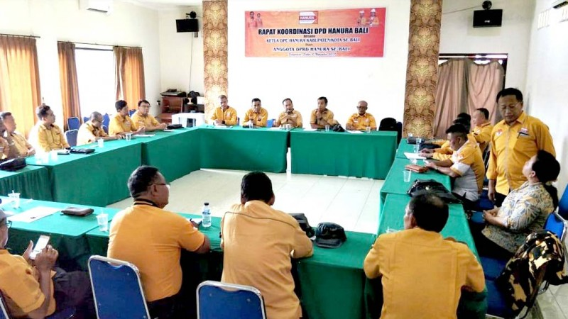 www.nusabali.com-hanura-bali-konsolidasi-jelang-munas