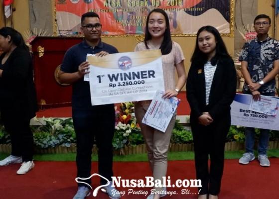 Nusabali.com - seru-lomba-debat-bahasa-inggris-alsa-speak-up-unud