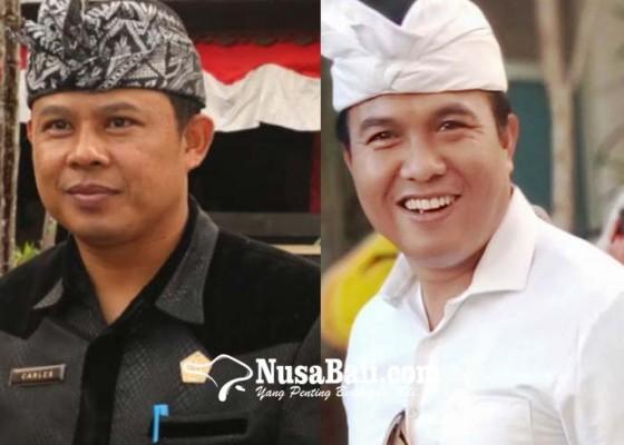 Nusabali.com - hari-terakhir-carles-dan-perbekel-awan-daftar-cabup