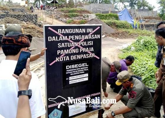 Nusabali.com - ditolak-warga-proyek-perumahan-disegel