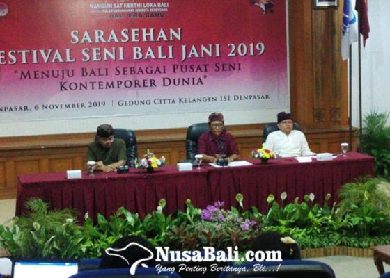 Nusabali.com - bali-dipacu-sebagai-pusat-seni-kontemporer-dunia