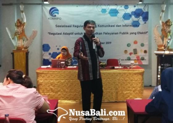Nusabali.com - kemkominfo-sosialisasikan-regulasi-baru