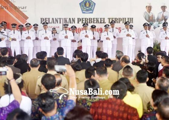 Nusabali.com - 23-perbekel-terpilih-di-denpasar-dilantik